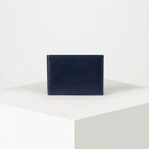 Визитница на 22 карты, цвет синий