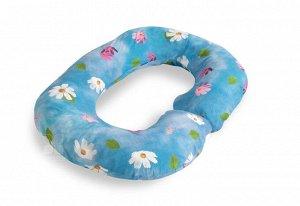 Наволочка К Подушке Для Беременных Rogal Цветы (80х130 (1 шт))