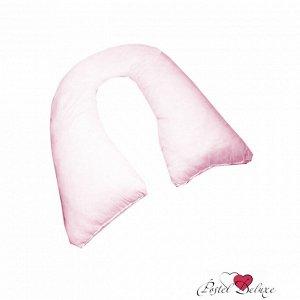 Наволочка К Подушке Для Беременных U Маленькая Цвет Розовый (35х280 )