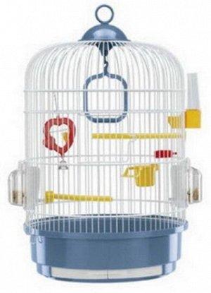 Клетка для птиц REGINA перламутровая р-р 32,5*32,5*45,5 см.