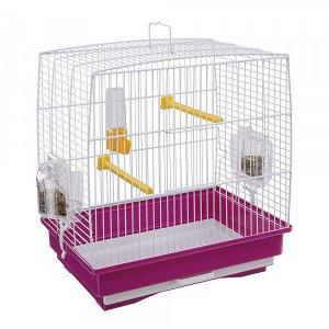 Клетка для птиц REKORD 1 (цветная) 35,5*24,7*37см