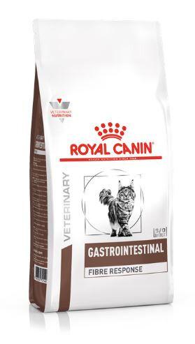 Royal Canin Gastrointestinal Fibre Response диета сухой корм для кошек от 1 года при острых и хронических запорах, 400г