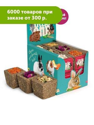 Литтл Ван Корзинка из луговых трав с наполнением Ассорти для всех видов грызунов