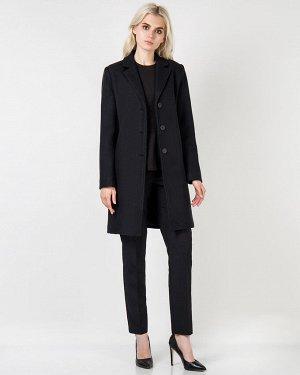 Пальто жен. (194006) черный