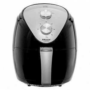 Мультипечь электрическая 1500 Вт, 2,5 л DELTA LUX DE-6101 черная