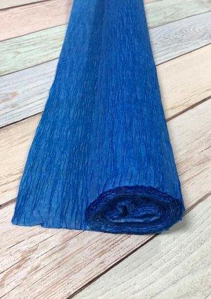 Гофра Китай, 250*50 см светло-синий