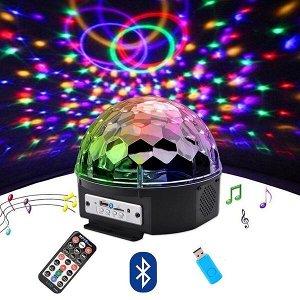 Диско-шар MP3 с Bluetooth Led Magic