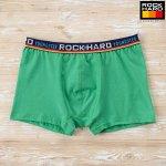 Боксеры подростковые ROCKHARD 62023, Зелёный