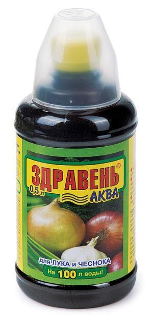 Здравень АКВА Лук и чеснок (1,8 л)