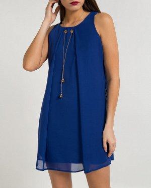 Платье жен. (193953)синий
