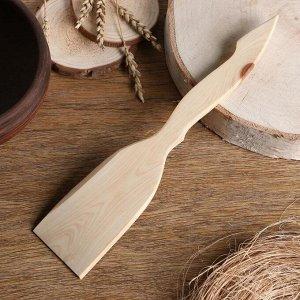 Лопатка кухонная «Будет вкусно», можжевельник