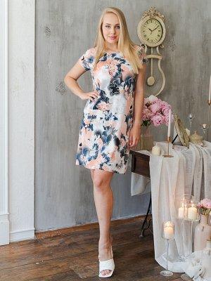 Платье П 525-П (Персиковый)