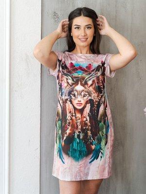 Платье П 245-Р (Розовый)