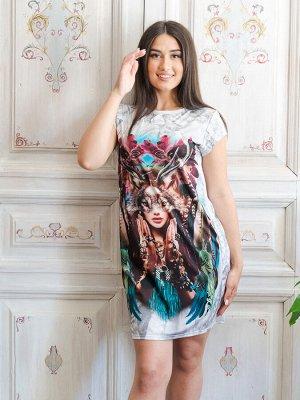 Платье П 245-С (Серый)