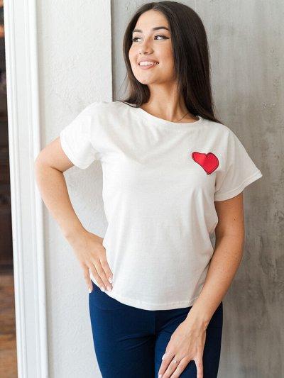 №18 = ЮСЯ - трикотаж для всей семьи от 100 руб  — Майки и футболки женские — Майки