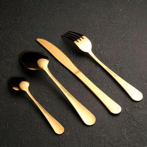 Набор столовых приборов «Золото», 24 предмета