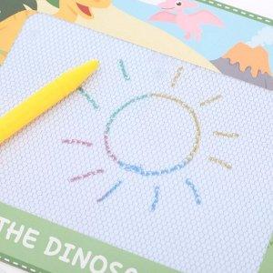 Магнитная доска для рисования «Эра динозавров»