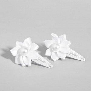 Заколка для волос с цветком (набор 2 шт) Феи ВИНКС