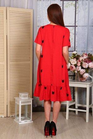 Платье Состав: 100% пэ; Размеры: 46, 48, 50, 52
