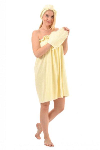 №173 =✦Домтрик ✦ Уютная домашняя одежда от 42до76р.Новиночки — Полотенца для бани и сауны — Все для бани и сауны