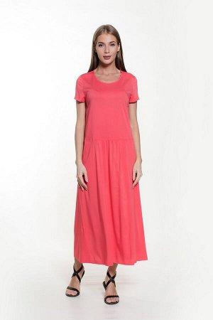 Платье с заниженной талией штапель