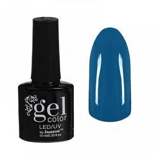 Гель-лак для ногтей трёхфазный LED/UV, 10мл, цвет В2-018 неоновый голубой