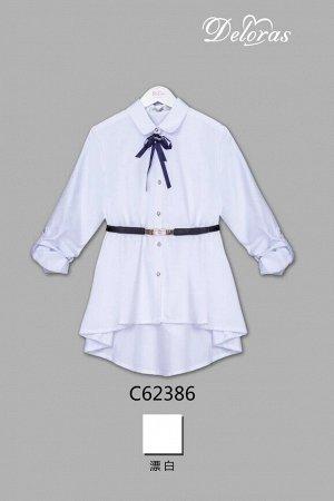 62386 блузка бел 134-164