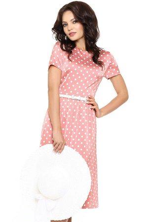 Платье Красотка, воздушная, с ремешком