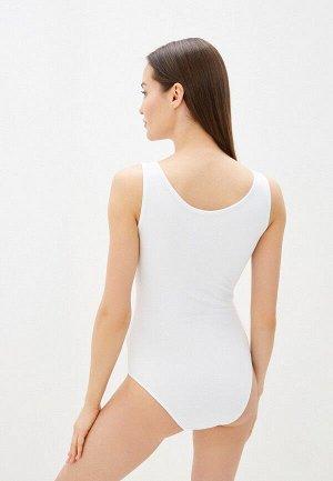 Боди белый Стоило 915 руб.  Боди женское на широких бретелях из биэластичного хлопка.  Комфорт при носке, не заметен под одеждой. Прекрасен под пиджак.  Состав: хлопок 90%, эластан 10%.