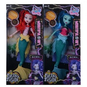 Кукла MONSTER GIRL русалка , 30см