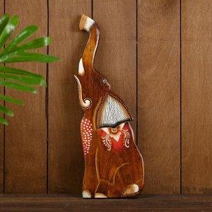 """Панно """"Слон"""" дерево 15х1х40 см"""