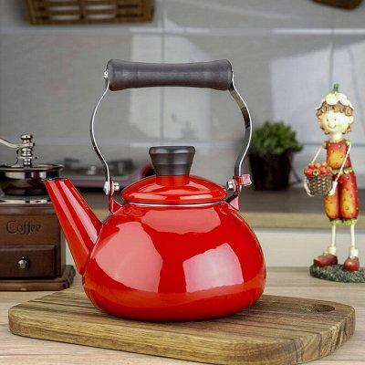 Удобная кухня💥 Сковородки от 199 рублей!  AMERCOOK💥  №3 — Эмалированные чайники — Электрические чайники и термопоты
