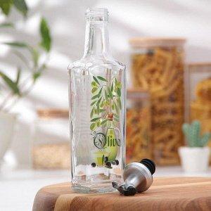 Бутылочка для оливкового масла со специями, 250 мл