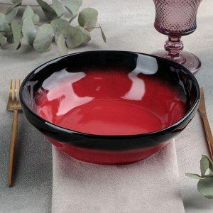Тарелка «Rosa rossa», 1 л, d=21,5 см