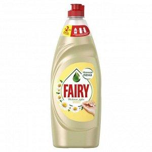 FAIRY Средство для мытья посуды Нежные руки Ромашка и витамин Е 900мл