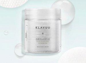 KLAVUU Pure Pearlsation PH Balancing Quick Cleansing Pad Очищающие пэды-салфетки с экстрактом жемчуга