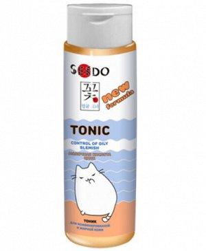 Тоник Sendo для комбинированной и жирной кожи 250 мл