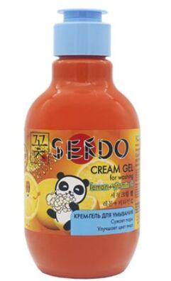 """Крем-гель для умывания серии """"Sendo"""" с экстрактом лимона и витамином C 250 мл"""