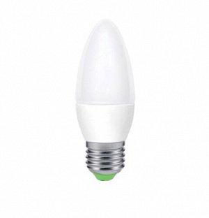 Лампа светодиодная LED-СВЕЧА-eco 5Вт 230В Е14 4000К 375Лм (групповая упаковка 5) IN HOME