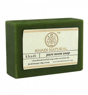 "Khadi PURE NEEM SOAP/Кхади иыло ""Ним""125гр."
