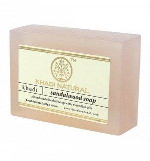 """Khadi SANDAL WOOD SOAP/Кхади мыло """"Сандаловое дерево"""""""