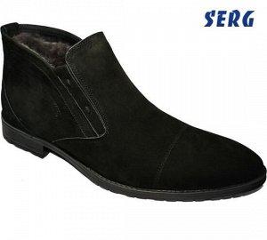Зимние мужские ботинки. Бренд SERG