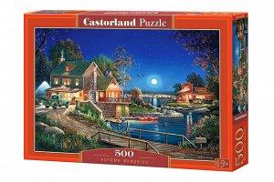 """Castorland. Пазл 500 арт.B-53421 """"Осенние воспоминания"""""""