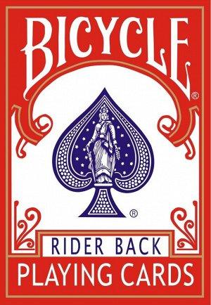 """Карты игральные """"Bicycle"""" 54 (картон 310 (Rider back core)"""
