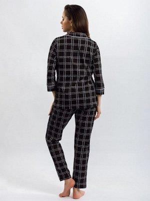Пижама женская ML-Классика буквы(кулирка)
