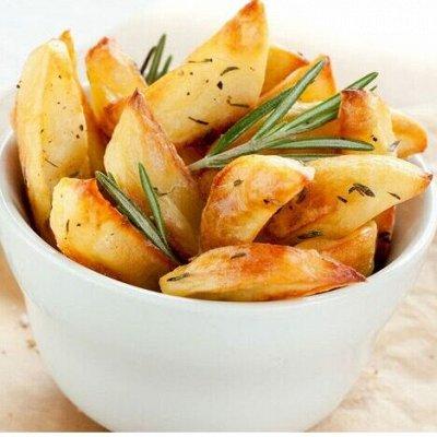 Все для вкусного ужина — Картофельные дольки — Овощные