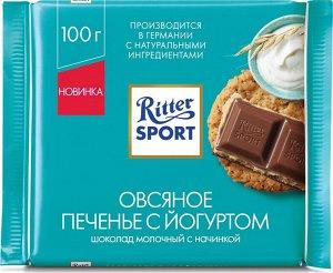 Шоколад Риттер Спорт Овсяное печенье 100гр