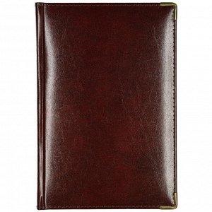 Ежедневник полудатированный коричневый А5 IMPERIUM 3-023/123