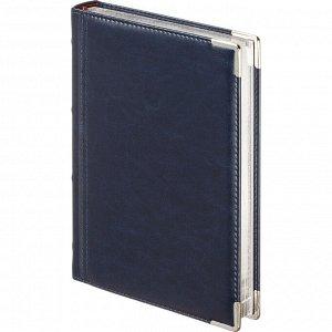 Ежедневник полудатированный А5+, 208л, BOSS темно-синий 3-404/272