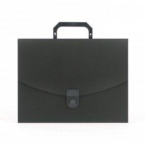 Папка-портфель пласт. ATTACHE A4/06 30мм черный